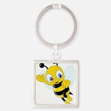 Jumping Bee Keychains