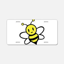 Baby Bee Aluminum License Plate