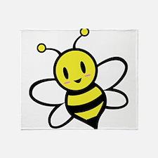 Baby Bee Throw Blanket