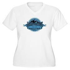 lassen volcanic 4 Plus Size T-Shirt