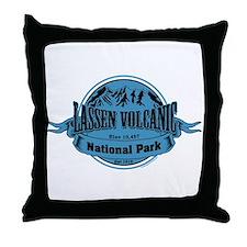lassen volcanic 1 Throw Pillow