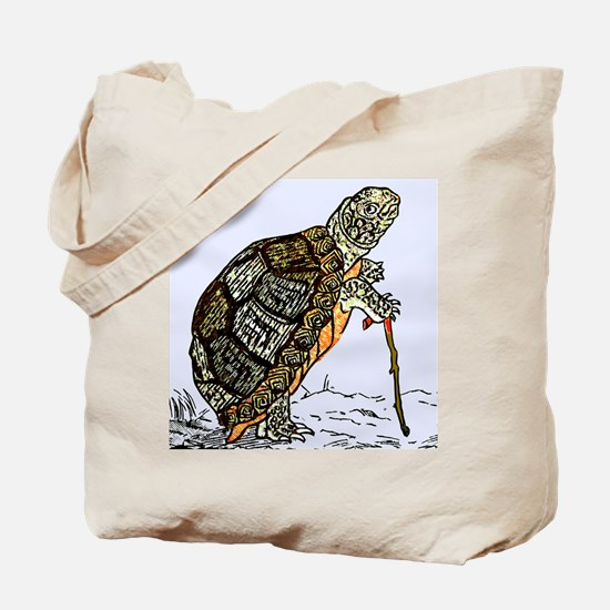 Our wise old friend the turtle Tote Bag