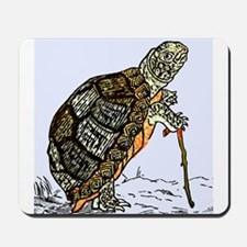 Our wise old friend the turtle Mousepad