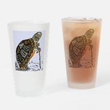 Our wise old friend the turtle Drinking Glass