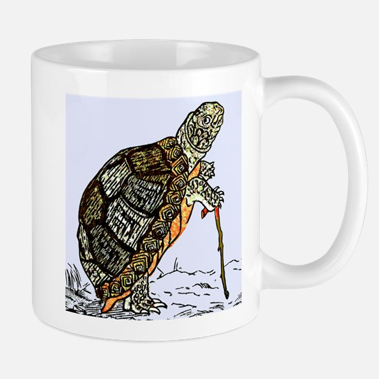 Our wise old friend the turtle Mug