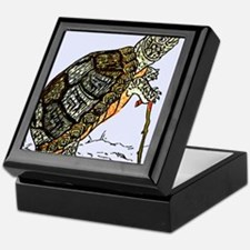Our wise old friend the turtle Keepsake Box