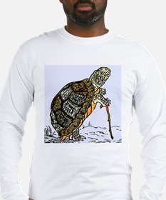 Our wise old friend the turtle Long Sleeve T-Shirt