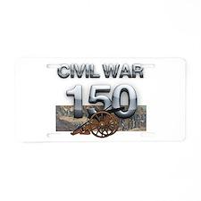 ABH Civil War Aluminum License Plate