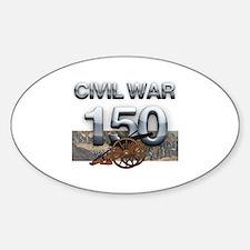 ABH Civil War Sticker (Oval)
