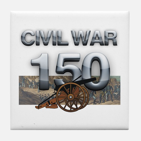 ABH Civil War Tile Coaster