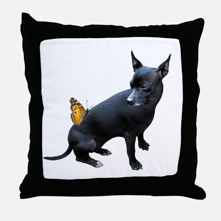 Throw Pillows Dogs : Black Dog Pillows, Black Dog Throw Pillows & Decorative Couch Pillows