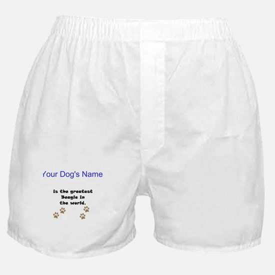 Greatest Beagle In The World Boxer Shorts