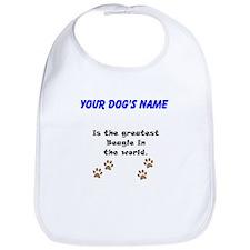 Greatest Beagle In The World Bib