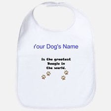 Greatest Beagle In The World Bib