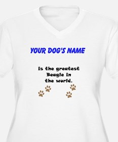 Greatest Beagle In The World Plus Size T-Shirt