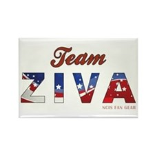 TEAM ZIVA Rectangle Magnet