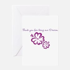 Thank you for being our Deacon Greeting Card