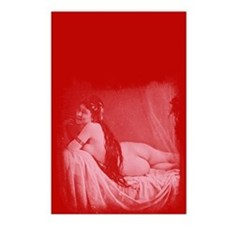 Risque Vintage Valentine Postcards (Package of 8)
