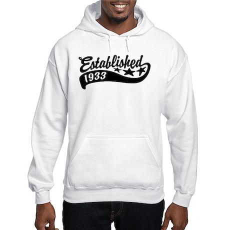 Established 1933 Hooded Sweatshirt