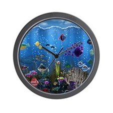 Underwater Love Wall Clock