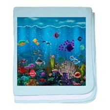 Underwater Love baby blanket