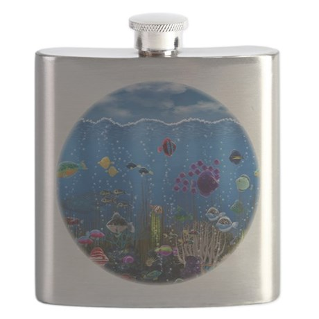 Underwater Love Flask