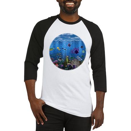 Underwater Love Baseball Jersey