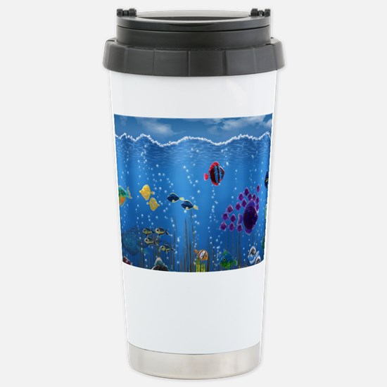Underwater Love Stainless Steel Travel Mug