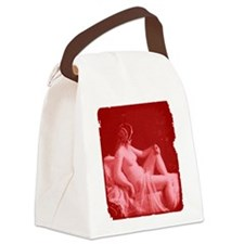 Vintage Risque Valentine Canvas Lunch Bag