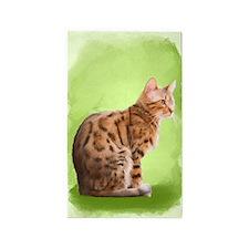 Bengal Cat Throw Rug 3'x5' Area Rug