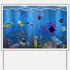 Underwater Love Yard Sign