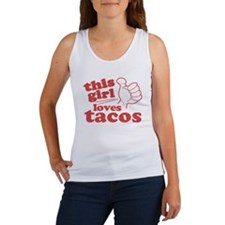 This Girl Loves Tacos Tank Top
