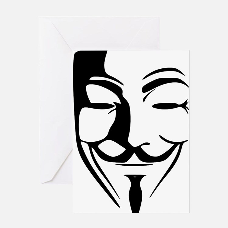 Guy Fawkes Greeting Card