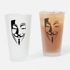Guy Fawkes Drinking Glass