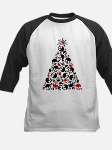 Gothic Skull Christmas Tree Tee