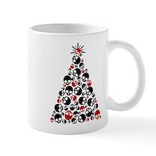 Gothic Skull Christmas Tree Mug