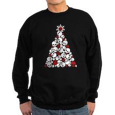 Gothic Skull Christmas Tree Sweatshirt
