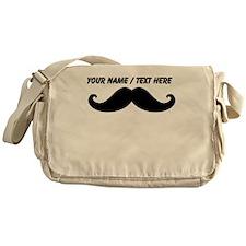 Personalized Mustache Messenger Bag