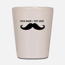 Personalized Mustache Shot Glass