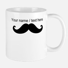 Personalized Mustache Small Mug