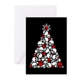 Skull christmas Greeting Cards (20 Pack)