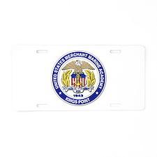 Merchant Marine Academy Aluminum License Plate
