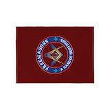 Masonic 5x7 Rugs
