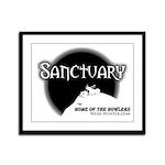 Sanctuary Staff Framed Panel Print