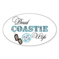 Proud Coast Guard Wife Decal
