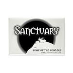 Sanctuary Staff Rectangle Magnet (100 pack)