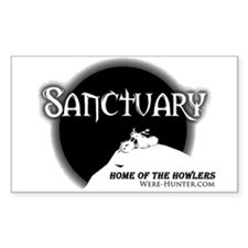 Sanctuary Staff Decal