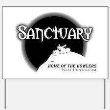 Sanctuary Staff Yard Sign