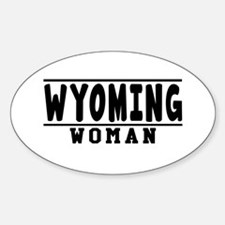 Wyoming Woman Designs Decal