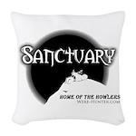Sanctuary Staff Woven Throw Pillow